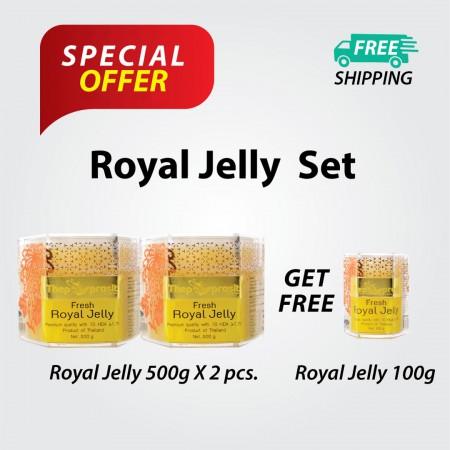 500g Royal Jelly Set