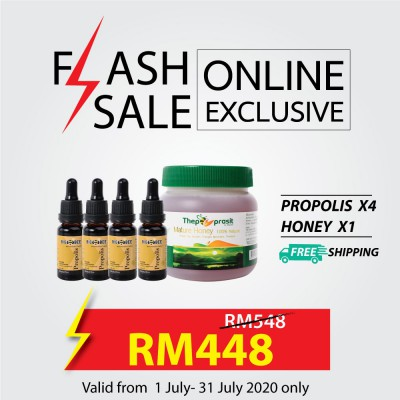 Honey Propolis Set