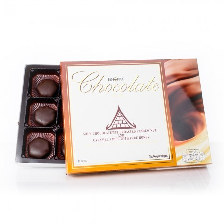 Honey Black Chocolate (Cashew-Nut)