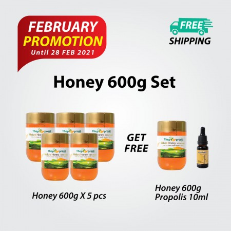 600g Honey Set
