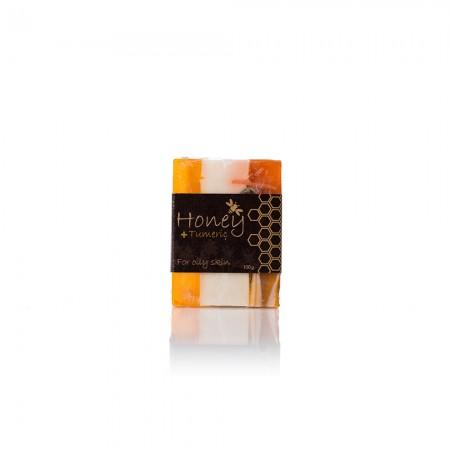 #37 手工蜂蜜香皂(香茅式)